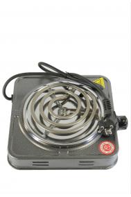 Плита для розжига угля спиральная серая