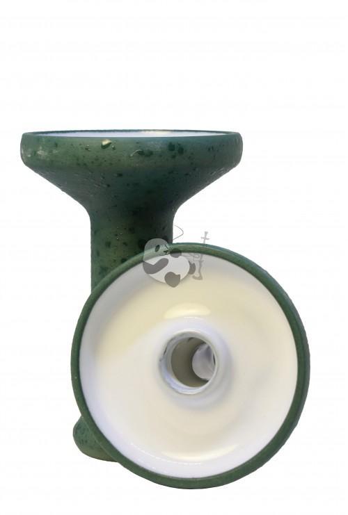 Облако Mono Phunel L Glaze Top Green - кальянная чаша