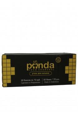 Уголь для кальяна Panda Black 72 кубика 10 kg