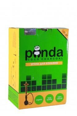 Уголь для кальяна Panda Green 120 кубика