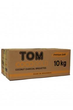 Уголь для кальяна Tom Cococha Gold 10kg
