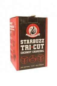 Уголь для кальяна STARBUZZ TRI CUT 72 ps