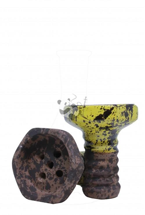 Evil Screw Bowl Glaze Yellow — чаша для кальян