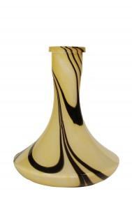 Колба для кальяна Craft black-yellow