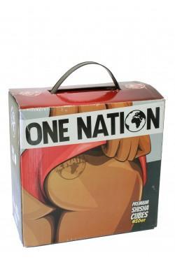 Уголь для кальяна One Nation 4 kg (64 кубика / 1 кг)