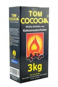 Уголь для кальяна Tom Cococha Yellow 3kg