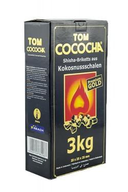 Уголь для кальяна Tom cococha gold 3kg