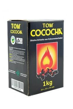 Уголь для кальяна Tom cococha yellow